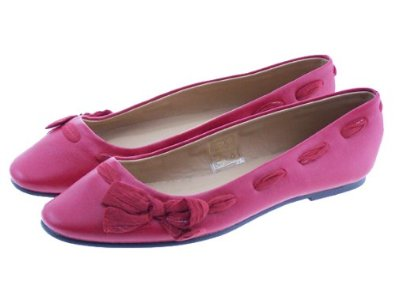 Couture Discount Ballerinas Schleife rot
