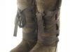 Couture Discount Damenstiefel Fell Boots braun