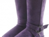 Couture Discount Damenstiefel Fell Boots lila