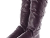 Couture Discount Damenstiefel Slouch Stiefel Boots lila