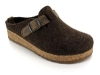 HAFLINGER Clogs Grizzly Wood, schoko