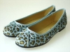 Couture Discount Ballerinas Fashion Leopard blau