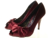 Couture Discount Pumps Peep Toes Heels Satin Schleife