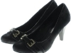 Couture Discount Distressed Schwarze Pumps