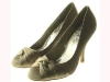 Couture Discount Vintage Satin Pumps High Heels