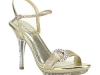 Glitter Sandale gold © Heels Perfect
