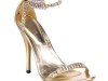 Strass-Steinchen-Sandalette gold © Heels Perfect