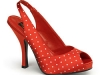 Slingpumps rot © Heels Perfect